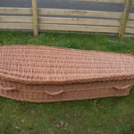 Woven Willow Wicker Coffin